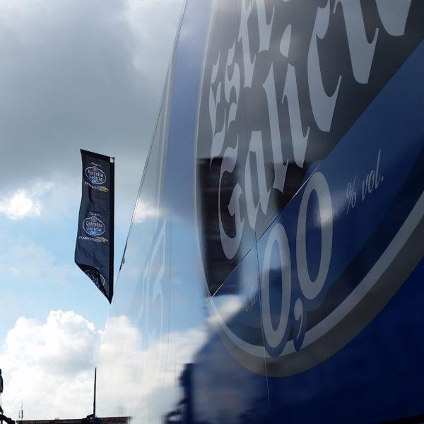 MotoGP™ Lastwagen vom Team Marc VDS