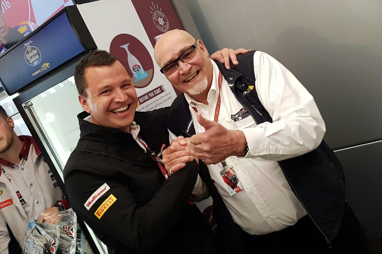 Gast mit Marc van der Straten