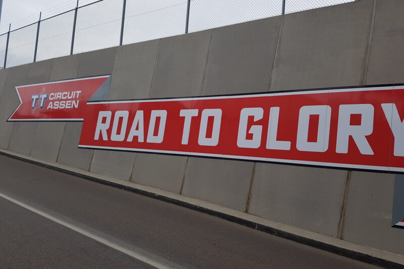 Road to Glory am Assen Circuit