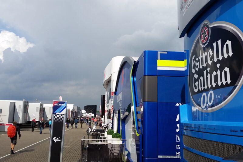 MotoGP Fahrerlager