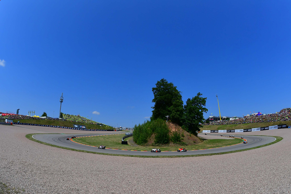 Kurve am Sachsenring