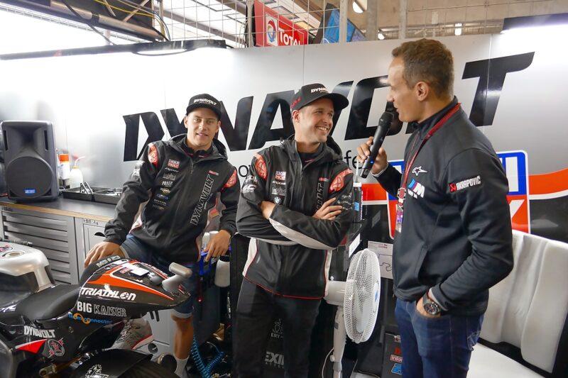Interview mit Moto2 Fahrer