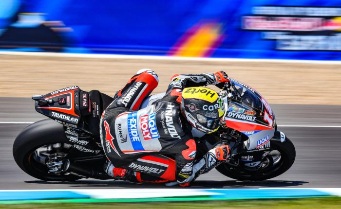 Motorcycle of Intact GP