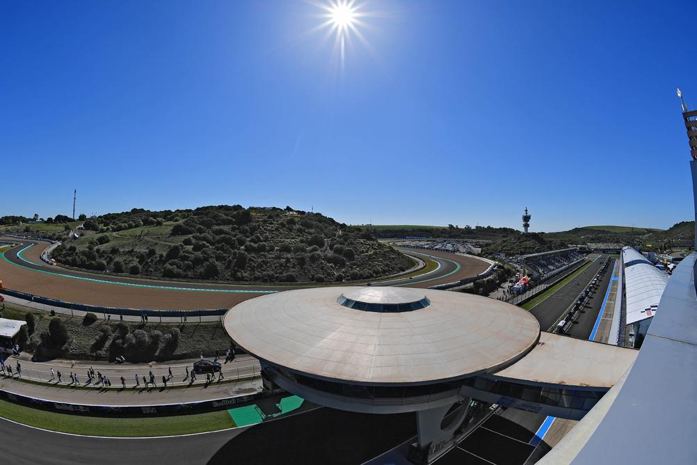 Rennstrecke von Jerez