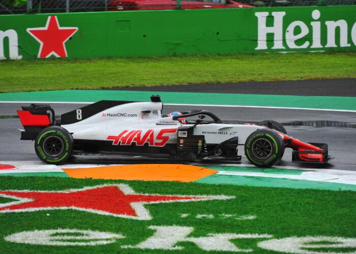 Formel 1 Auto von Haas