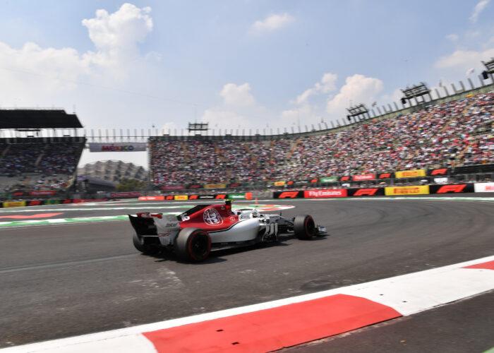 Formel 1 Auto von Alfa Sauber