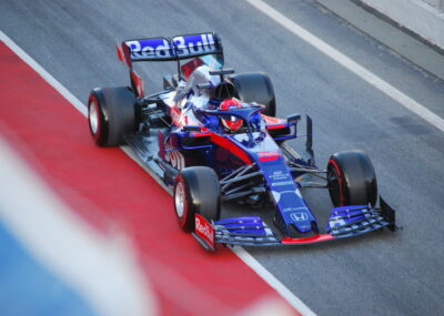 Formel 1 Auto von Torro Rosso