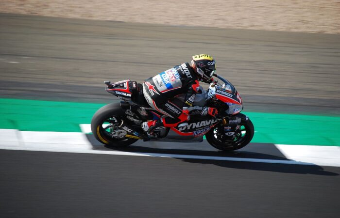 Moto2 Motorcycle of Tom Lüthi