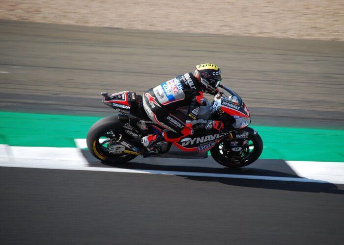 Moto2 Motorcycle of Tom Lüthi