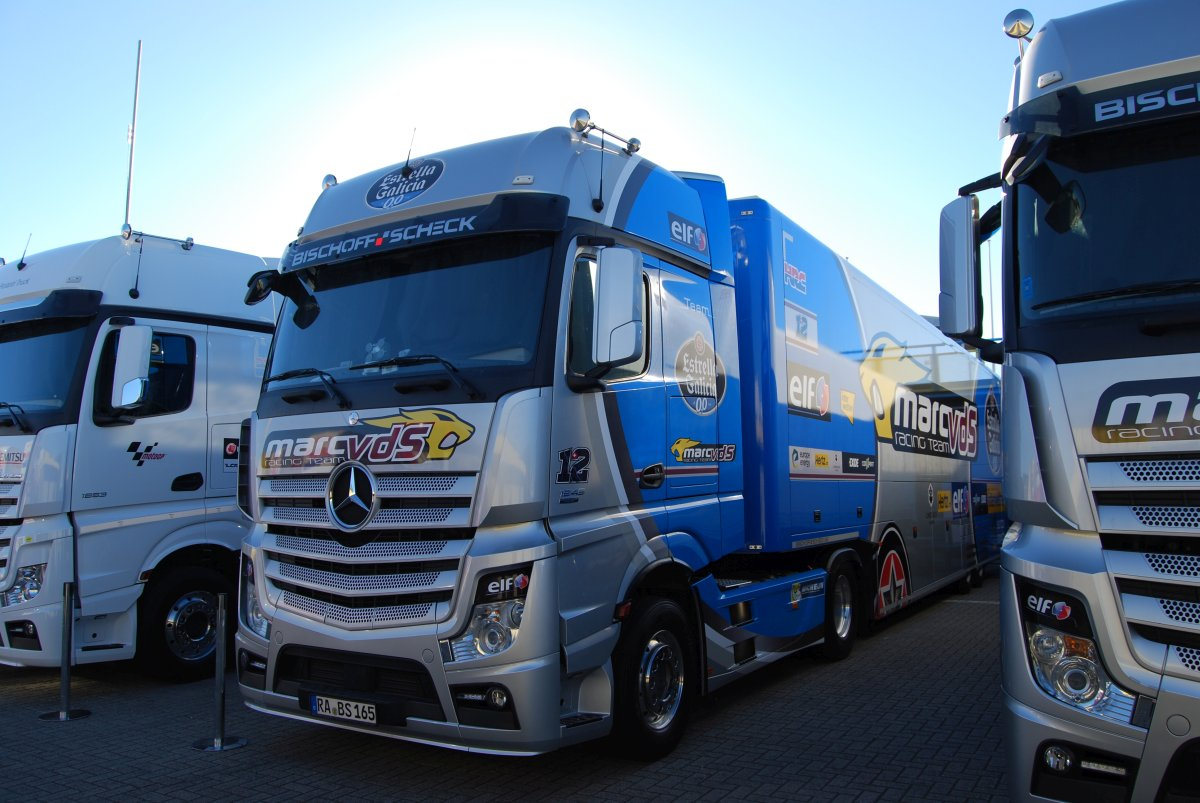 Truck of Team EG 0,0 Marc VDS