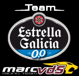 Logo vom Team Estrella Galicia 0,0 Marc VDS