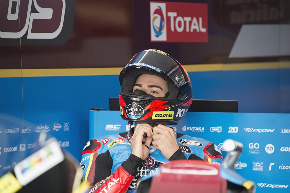 Augusto Fernandez Rider Marc VDS