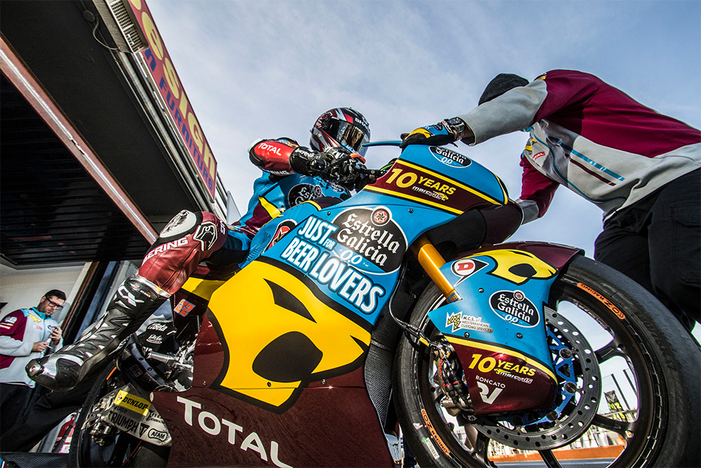 Moto2 Bike von Sam Lowes