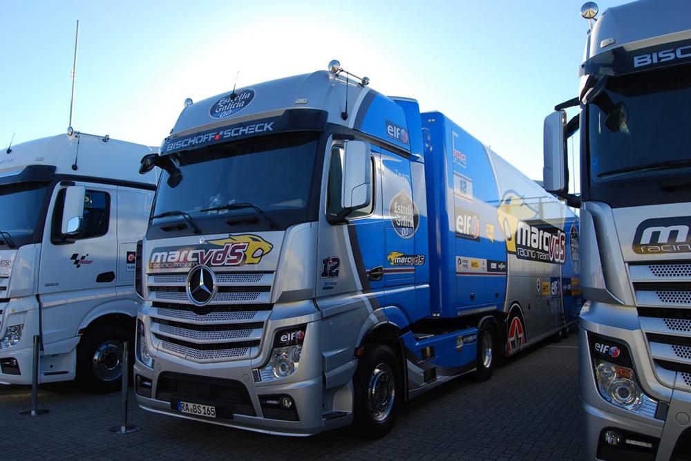 Lastwagen vom Team EG 0,0 Marc VDS