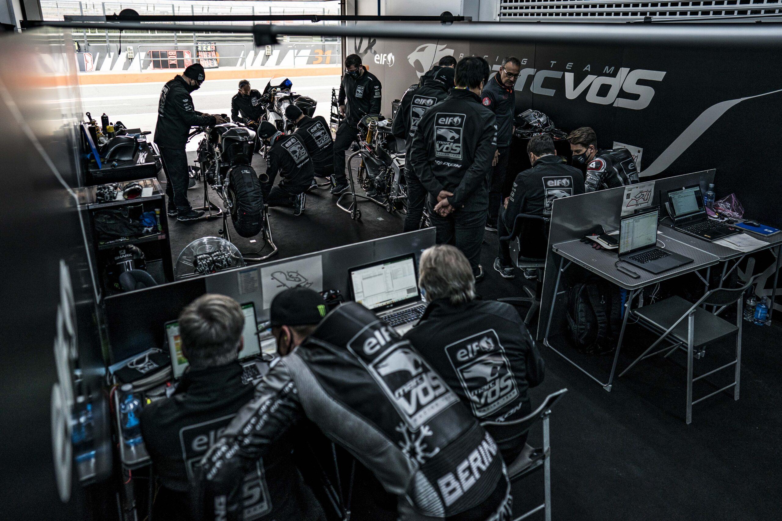 Garage Moto2 Team MarcVDS Racing